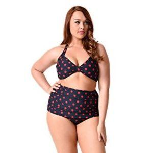 ESTHER WILLIAMS Retro Style Polka Dot Bikini, 14